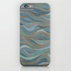 Wave lines 1 iPhone 6s Slim Case