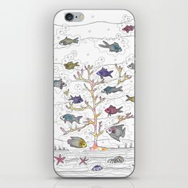 Coral of Life (Underwater)  iPhone Skin