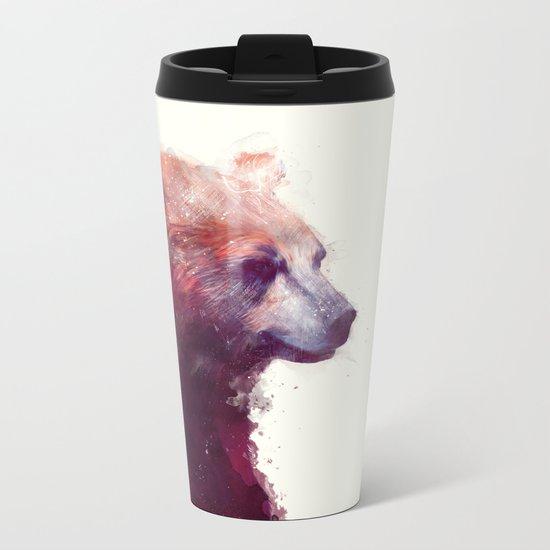 Bear // Calm Metal Travel Mug