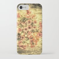 shabby chic iPhone & iPod Cases featuring Vintage Shabby Chic Bouquet by Joke Vermeer