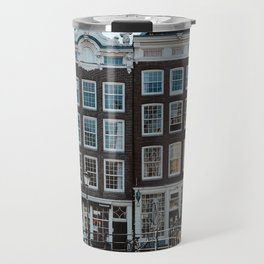 Amsterdam architecture | Travel photography | Buildings and the canals | The Netherlands | Art Print Travel Mug