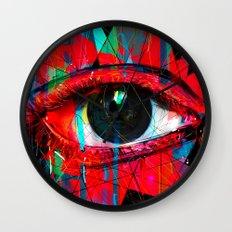 Useless Eyes Wall Clock