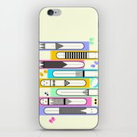 suits iPhone & iPod Skins featuring swim suits  by filipa nos campos