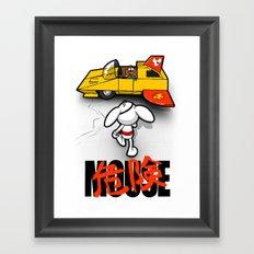 Danger-kira Mouse Framed Art Print