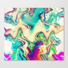 Wave Drip Canvas Print
