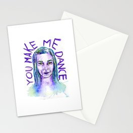 You make me dance Stationery Cards