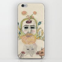 men iPhone & iPod Skins featuring three men by Édgar MT