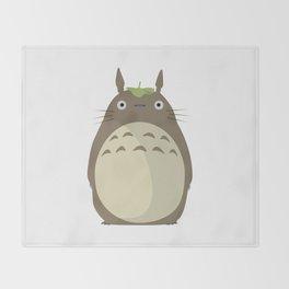 Totoro Throw Blanket