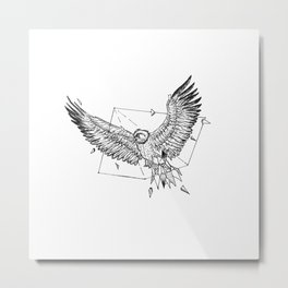 Geometric Season1:6 Eagle Metal Print