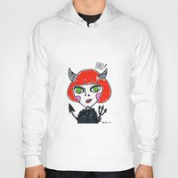 evil Hoodies featuring Evil by Amy Lee