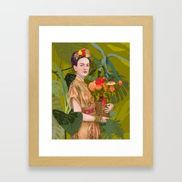 Floreria Framed Art Print