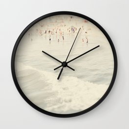 California, Los Angeles, beach, seaside, ocean, surf, downtown, Cali, SoCal, west coast Wall Clock