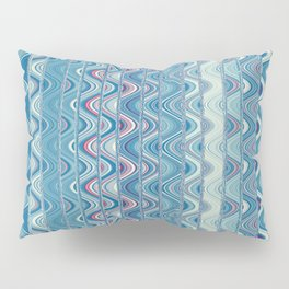 Indian pattern in blue Pillow Sham