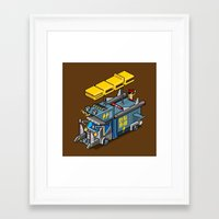 acdc Framed Art Prints featuring ACDC: ROCK ON! by paragraph