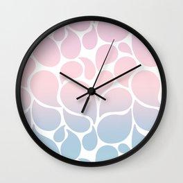 Happy Drops Wall Clock