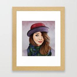 Zoella Style Framed Art Print