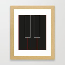 Tones Framed Art Print