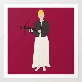 Prophecy Girl Art Print