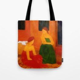Mulheres na calçada (Women on the sidewalk) Tote Bag