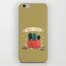 Cactus - TOUGH TO LOVE iPhone & iPod Skin