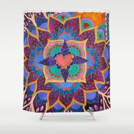 Feral Heart #02 Shower Curtain