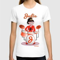 drums T-shirts featuring Julie Drums by Joséphine and friends/ et ses amis!