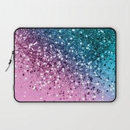 Tropical Beach Lady Glitter #8 #shiny #decor #art #society6 Laptop Sleeve