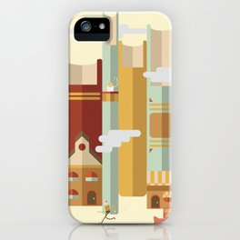 Big Books, Little People iPhone Case