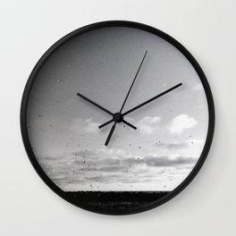 Icelandic Flyer 04 Wall Clock