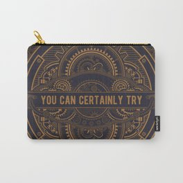 Steampunk You Can Certainly Try D20 Dice Tabletop RPG Gaming  Carry-All Pouch