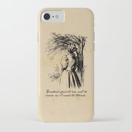 Anne of Green Gables - Kindred Spirits iPhone Case