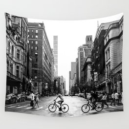 New York City Streets Wall Tapestry