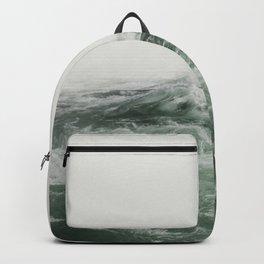 Green Sea | Landscape Photography | Beach Backpack