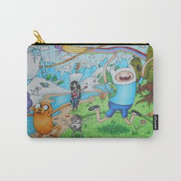 Finn and Friends Carry-All Pouch