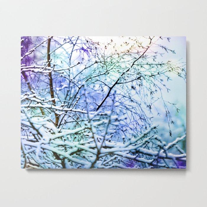 Winter Beauty Metal Print