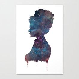 Femme Nebula Canvas Print