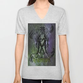 Gemini Astrology Unisex V-Neck