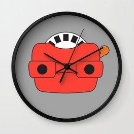 View-Master Wall Clock