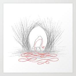 Bowerbird Art Print