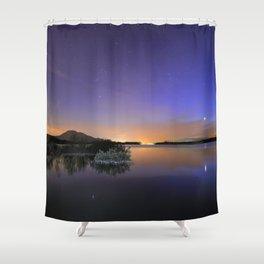 Venus, Orion, Taurus and the Pleiades Shower Curtain