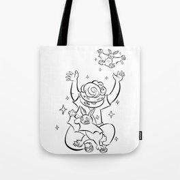 Ninja Master of Magic - ink Tote Bag