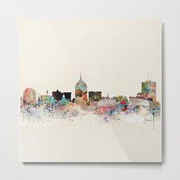 fresno skyline Metal Print