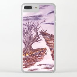 Tree of Solitude Clear iPhone Case