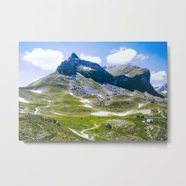 Mountain landscape. Summer. Metal Print