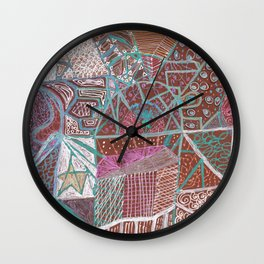 Spirits of the Jukebox Wall Clock