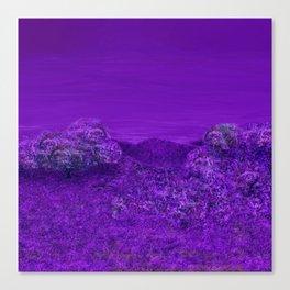 A Perpetual Lavender Twilight Canvas Print