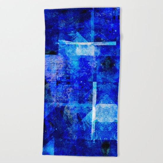 Sapphire Nebulæ Beach Towel