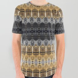 Golden River Reflections All Over Graphic Tee