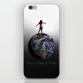 the ground beneath her feet iPhone Skin
