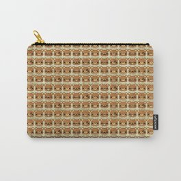 Bear with many moustaches Carry-All Pouch